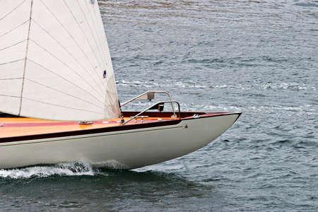 jib: Bow on a sailboat