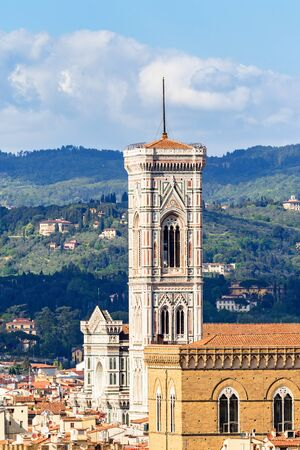 Giottos bell tower in Florence