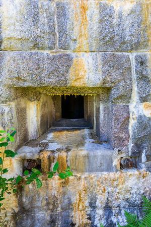 bunker: Loophole in a fortress bunker