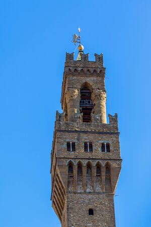 Tower of the Palazzo Vecchio in Florence