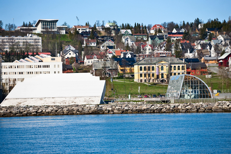 townhouses: Tromso city View from the sea