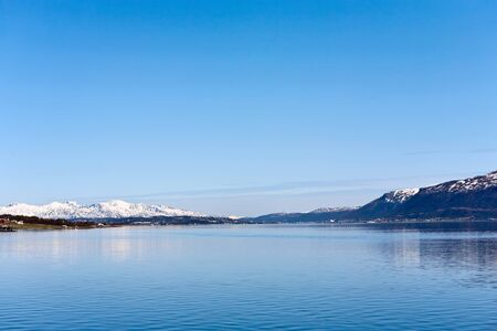 waterscapes: Fjord in Tromso Norway