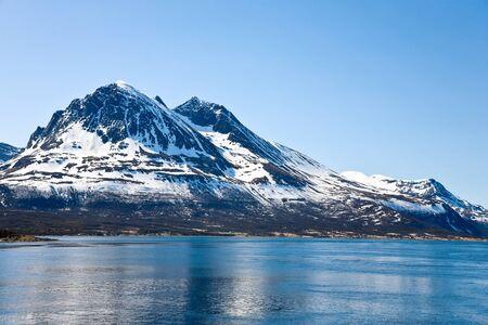 seascapes: Mountain peak in coast landscape Stock Photo