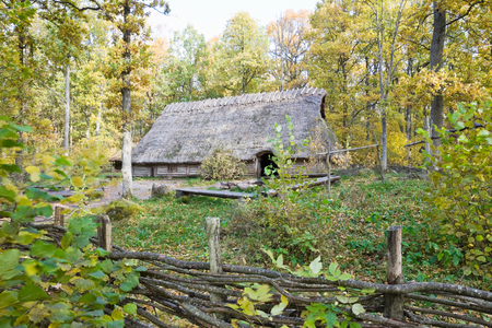 Old longhouse from Stone age