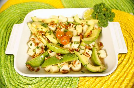 low cal:  of palm salad