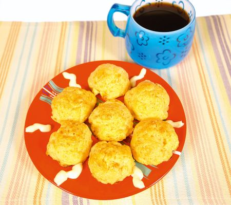 low cal: Little sour cream pastries