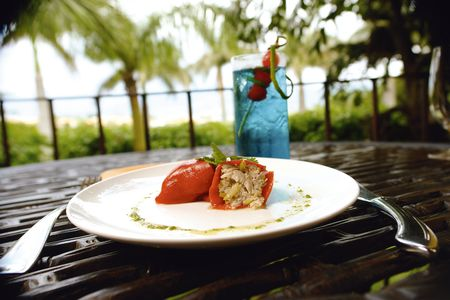 low cal:                                Stuffed red chile with tuna 2