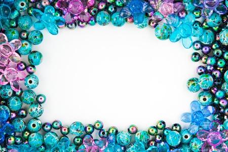 Colorfull Bead Frame Stock Photo - 10451341