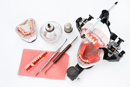 Articulador de laboratorio dental y equipos para pr�tesis photo
