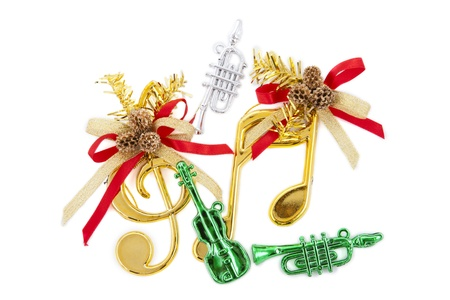 Sol-Fa key christmas decoration items Stock Photo - 11380346