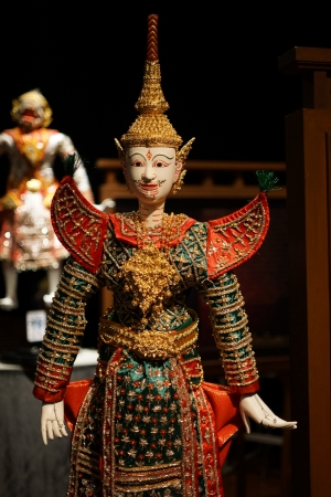 puppetry: Thai puppetry of Ramayana drama