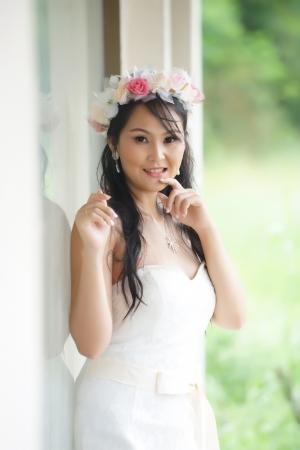 Woman beautiful asian bride thai — photo 4