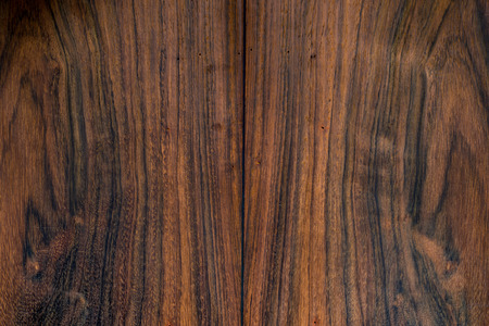 Texture of Brazilian Rosewood, Endangered Species of Wild Flora, used as background Banco de Imagens