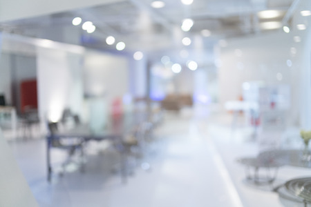 Blurred of office - ideal for presentation background. Banco de Imagens