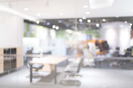 Blurred of office - ideal for presentation background. Archivio Fotografico