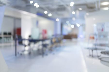 Verschwommene Büro - ideal für die Präsentation Hintergrund. Standard-Bild