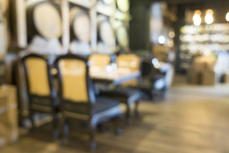 shop for: Blurred image of restaurant  coffee shop for backgrounds use Stock Photo