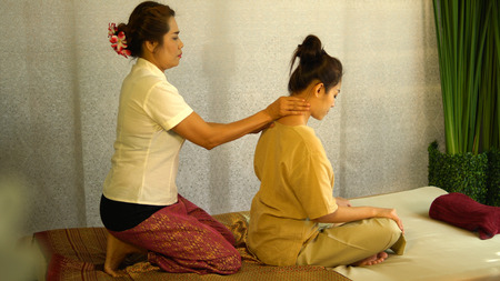 Pretty physical massage