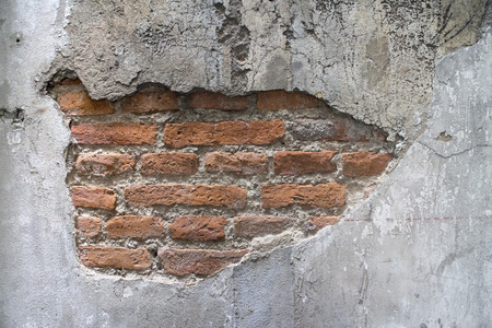 muro rotto: Rotto parete Archivio Fotografico