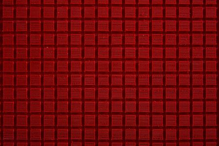 groove: Red EVA square groove texture