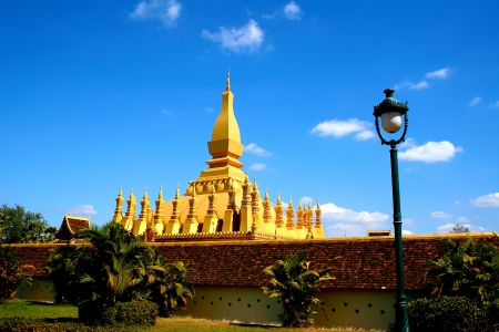 lao: Vientiane, the capital of Laos - old city