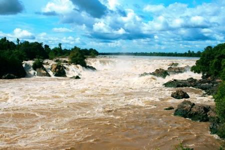 Khone Phapheng Waterfall, Southern Laos