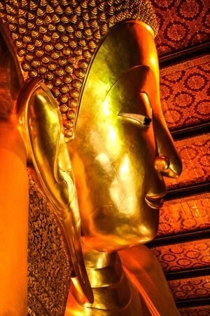 Buddha in Wat Pho thailand photo