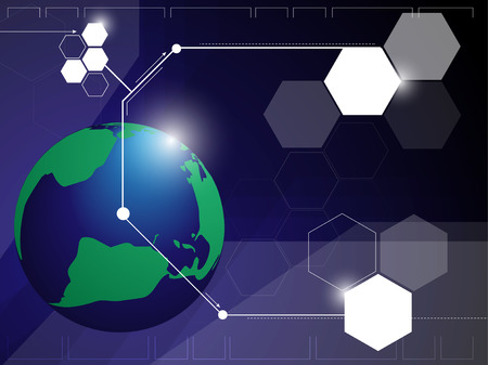 brink: Globe Network Abstract Background