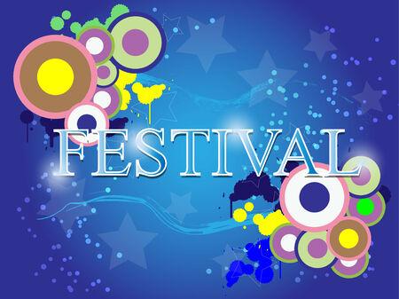 celebration background: festival celebration abstract background Illustration