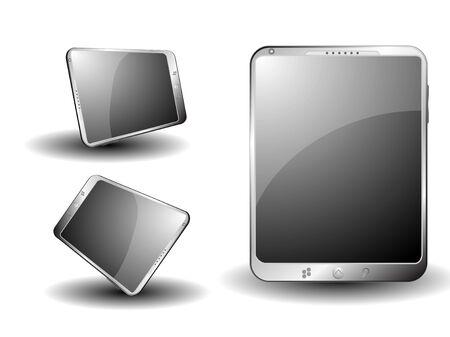 Tablet EPS 10 Vector Иллюстрация