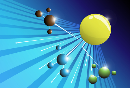 bandwidth: ball abstract background