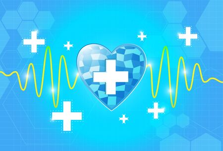 heart health care background