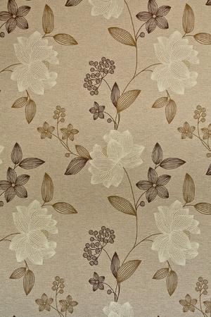 Retro wallpaper with flowers Stock Photo - 8294608