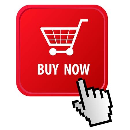 white pointer: E-commerce Illustration