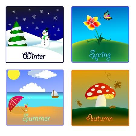 quatre saisons: les quatre saisons