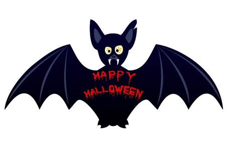 vlad: Halloween bat Illustration