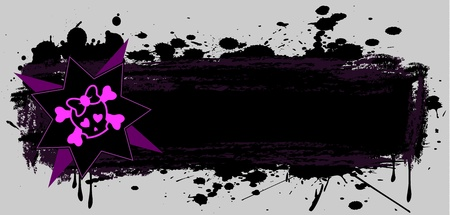 Emo banner Vector
