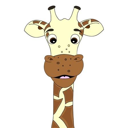 Giraffe cartoon Stock Vector - 10271024