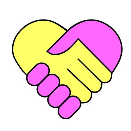 Hand shake Stock Vector - 10271008