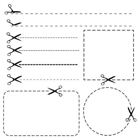 cortes: Conjunto de fronteras de cup�n