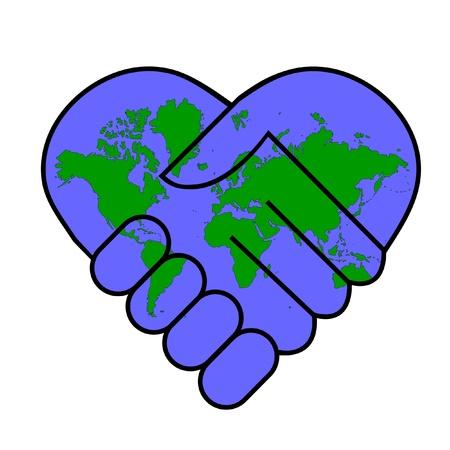 simbolo de la paz: La paz del mundo Vectores