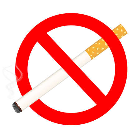 no smoking sign Stock Vector - 12487353