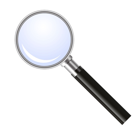 Magnifying glass Stock Vector - 12897703