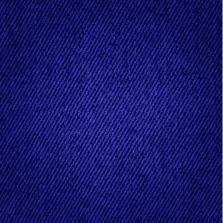 Dark blue jeans texture background Stock Vector - 14388382