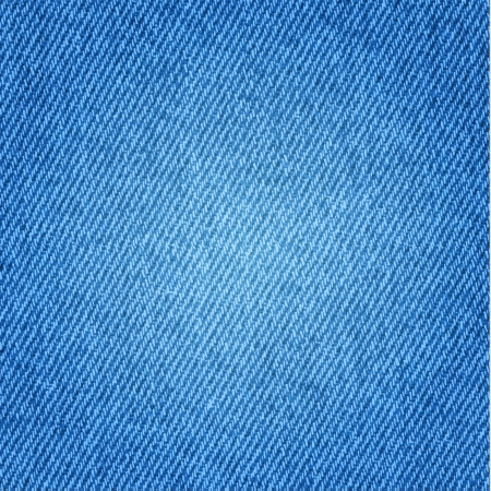 Blue jeans texture background Vector