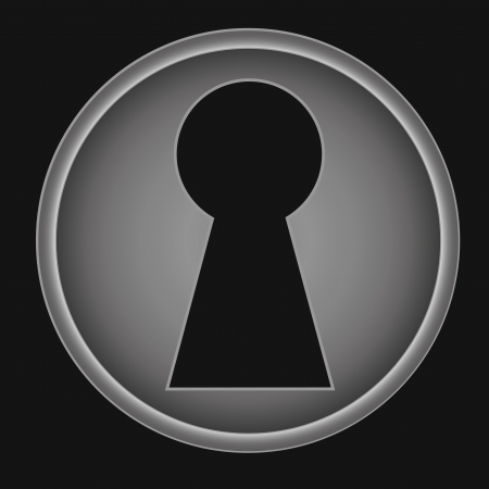 key hole: Key hole background vector. Easily put your own photo behind the key hole