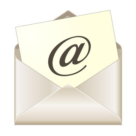 E-mail concept vector 向量圖像