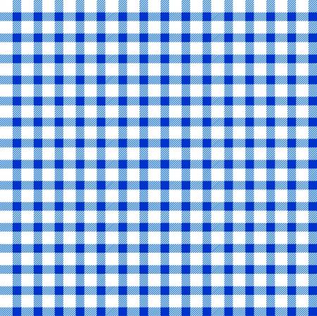 whiteblue: Seamless retro white-blue square tablecloth