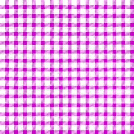 Seamless retro white-pink square tablecloth Vector