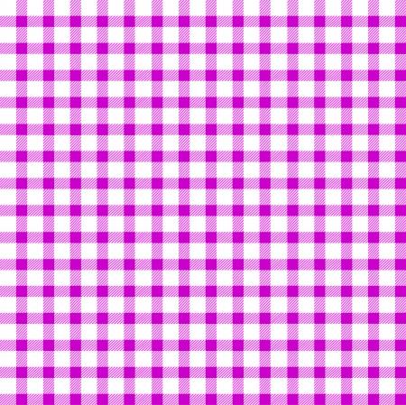 fuchsia: Seamless retro white-pink square tablecloth Illustration